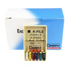 Dental Dentsply K-File Hand Use Endodontics 25mm