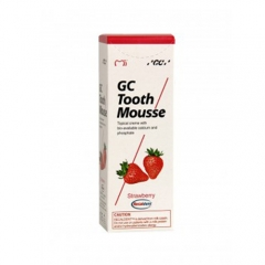 EXP: 2020-8-27 GC Tooth Mousse 1x 40g (35ml.) Recaldent -Strawberry