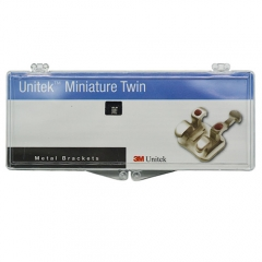 3M Unitek Mini ROTH 017-114 DENTAL Twin Metal Brackets
