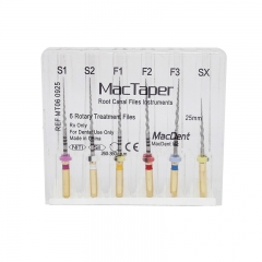 MacDent MacTaper Dental Universal Rotary Root Canal Shaping Finishing Engine Files Protaper Files